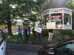 BLM Protest in Ironton 8-12-20